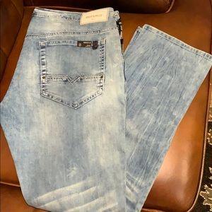 Buffalo Max-X skinny stretch jeans men's 36/32 NWT